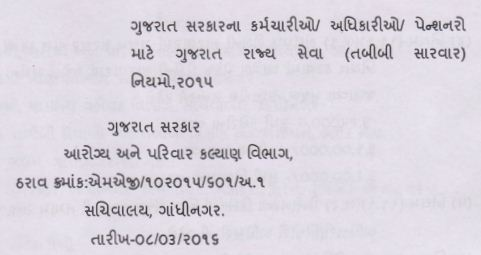 Gujarat Tabibi Sarvar Niyamo 2015