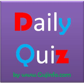 Daily Quiz Gujarat History Part 2 Date 25-08-2016