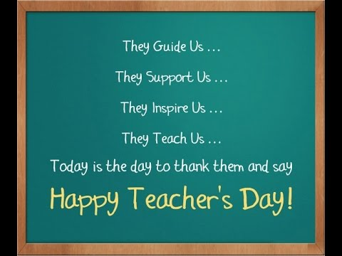 happy teachers day 2016