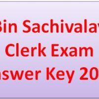bin-sachivalay-clerk-exam-answer-key-2016