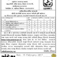 Gujarat State Seed Corporation Ltd Recruitment 2017 Notification