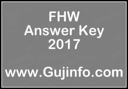 FHW Answer Key 2017 pdf