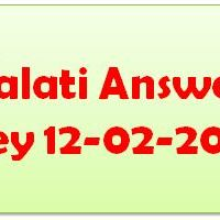 Gujarat Talati Answer Key 2017
