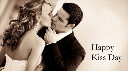image of happy kiss day 2017