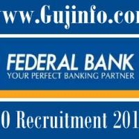 Federal Bank Recruitment notification