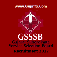 GSSSB Recruitment 2017
