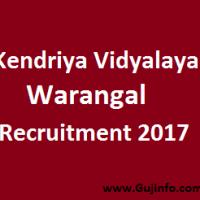 Kendriya Vidyalaya Recruitment 2017