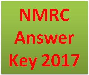 NMRC Answer Key 2017