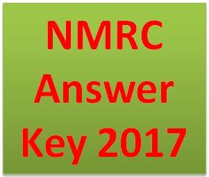 NMRC Answer Key 2017