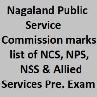 NPSC Result 2017
