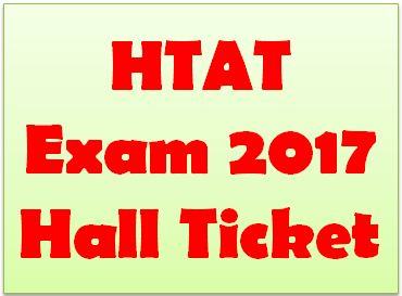 HTAT Hall Ticket