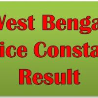 WBP Constable Result 2017