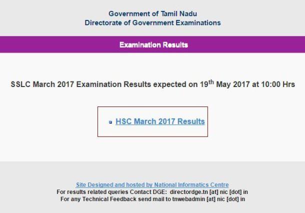 TN 10th Result 2017