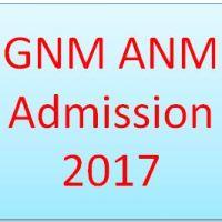 GNM ANM Admission 2017