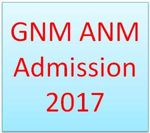 GNM ANM Admission 2017