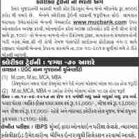 Mehsana Urban Cooperative Bank Recruitment