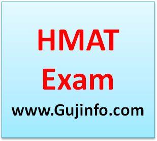 hmat exam notification