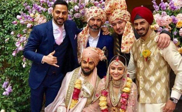 virat kohli anushka sharma wedding