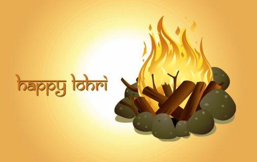 Happy Lohri 2018 Image