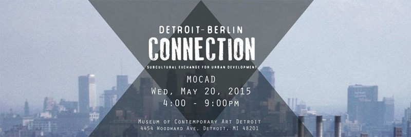 The Detroit-Berlin Connection project is an attempt to return Berlin's transformational energy back to the city of its origin: Detroit