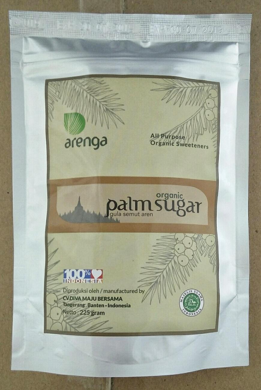 Label Baru Arenga Palm Sugar