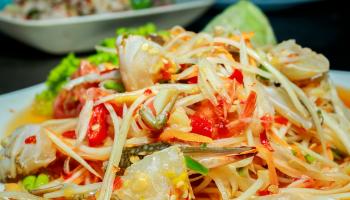 Som Tam Salad Ala Thailand