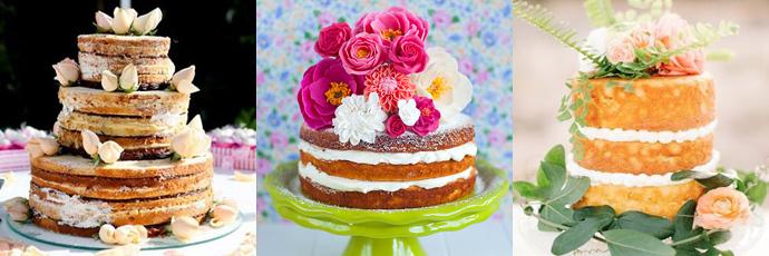 Resultado de imagem para naked cake inspiração