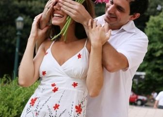 romantique mec rose conseil couple