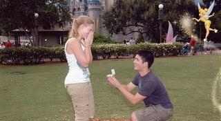 Demande en mariage à DisneyLand