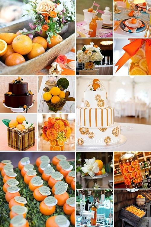 Photo mariage orange 3