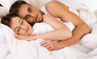 Couple qui dort mal