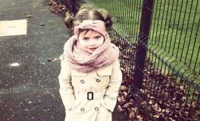 Enfant à la mode