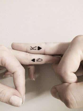 Tattoo roi et reine