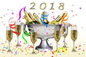 Message bonne année 2018
