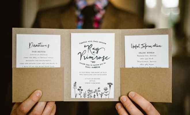 DIY faire part de mariage