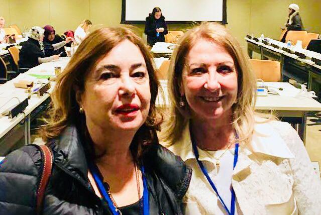 W20 - Women 20 of G20 - in CSW62 in 2018 - Gülden Türktan