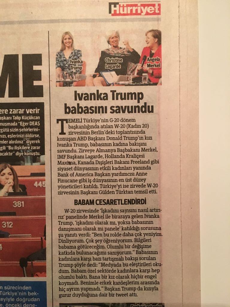 Ivanka Trump Babasını Savundu - Hürriyet