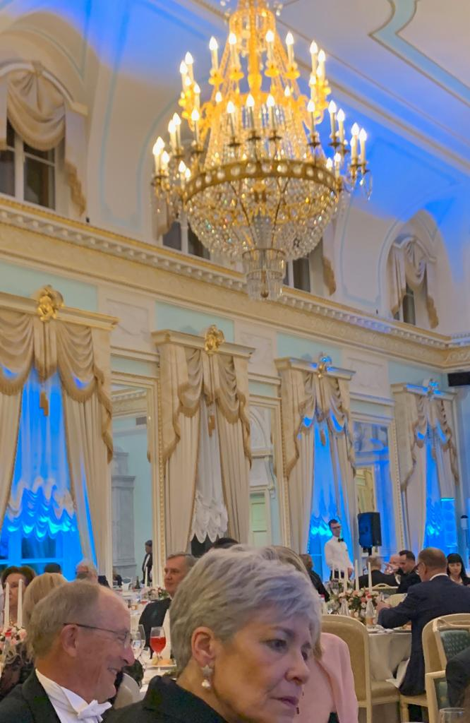 Ludvig Nobel Prize Ceremony and the City of St. Petersburg