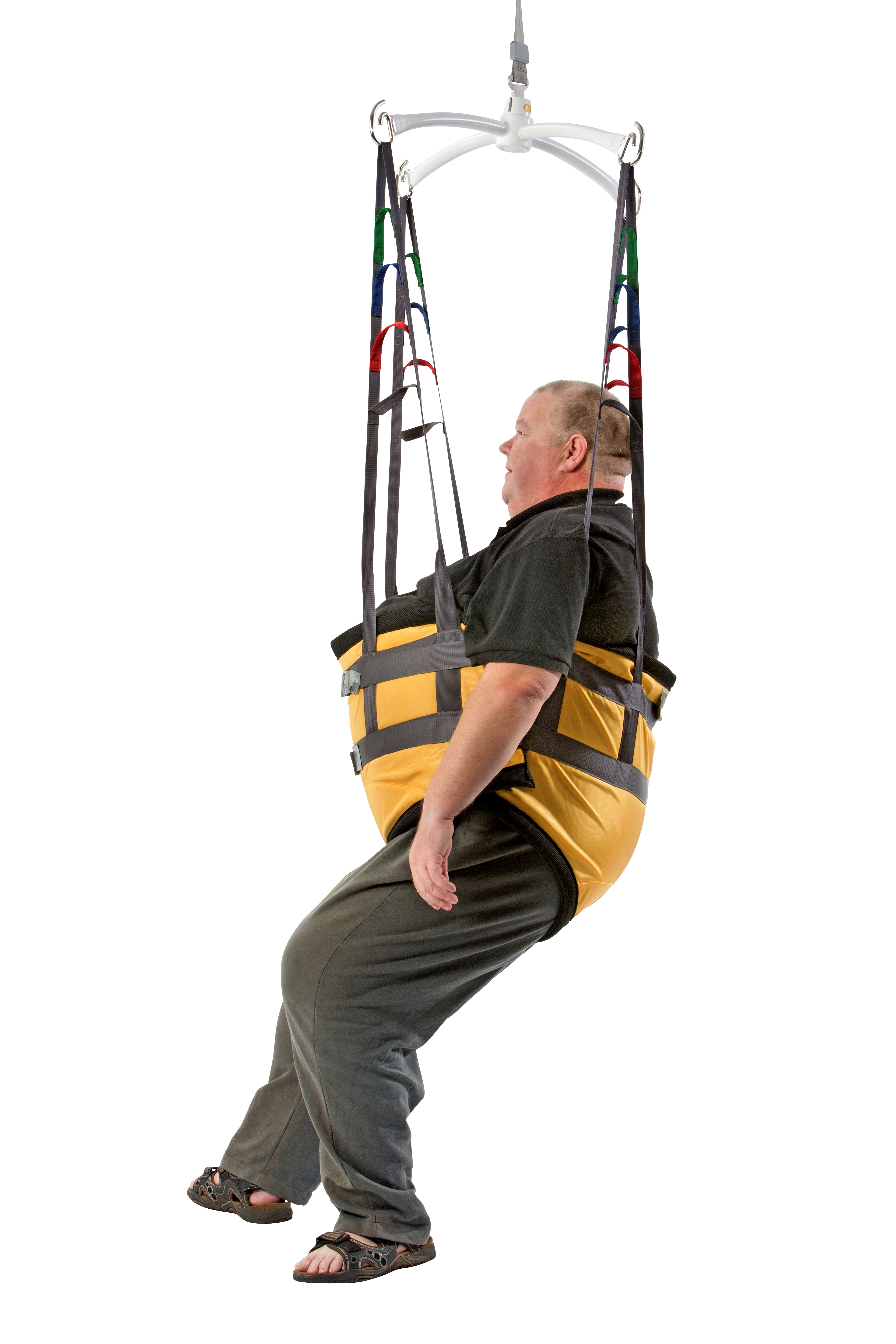 Bariatric walking sling for gait training and early