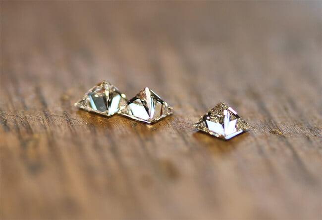 prinsess slipade diamanter
