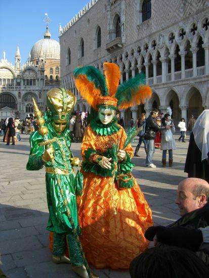Karneval i Venedig 2014