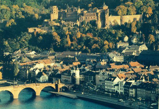 Postkort fra Heidelberg
