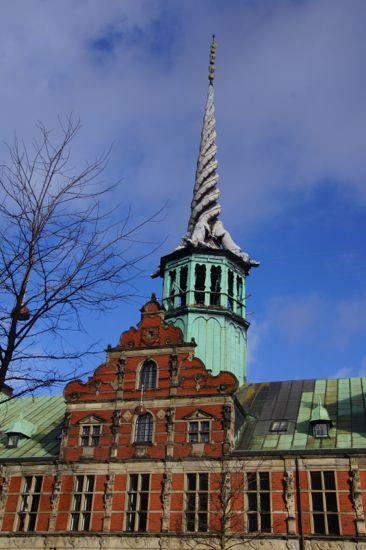 Spiret på Børsen i København