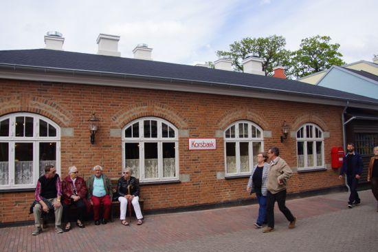 Korsbæk station på Bakken