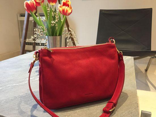 Rød taske