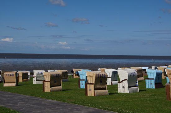 flere strandstole