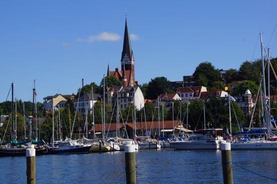 flensborg havn og kirke