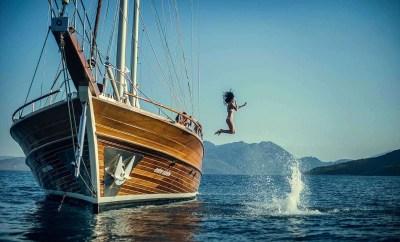 Bozburun Hisaronu Gulf Gulet Cruises