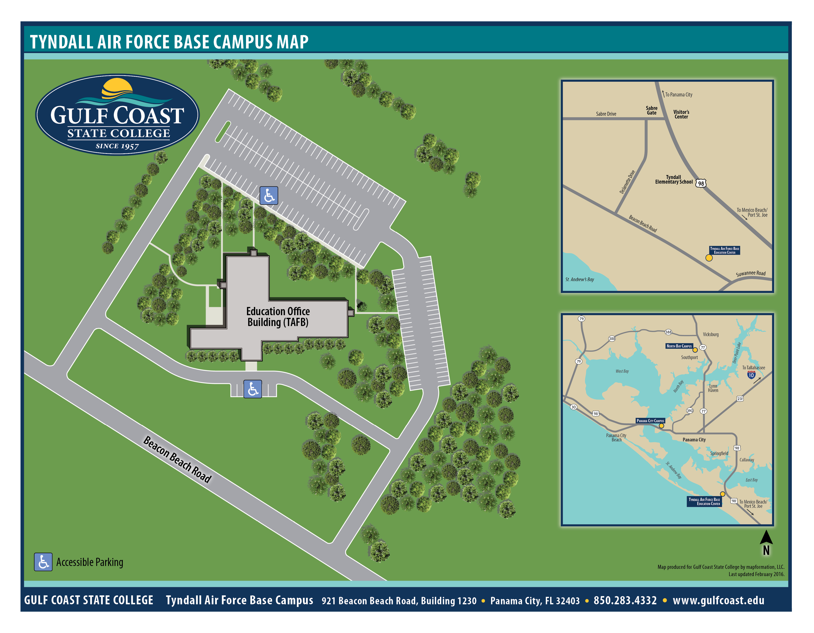 Bowie State University Campus Map