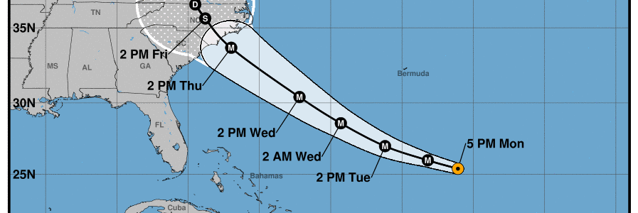 Tropical Update | Florence an Extremely Dangerous Category 4; Little Change with Isaac